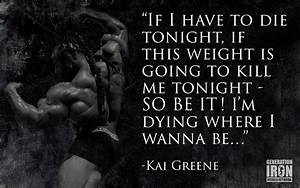 Kai Greene Quot... Kai Greene Quotes
