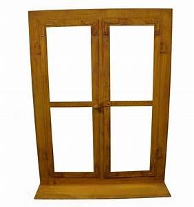 Deko Fenster Für Garten : deko fenster aus edelrost 80 x 60 cm metallmichl ~ Orissabook.com Haus und Dekorationen