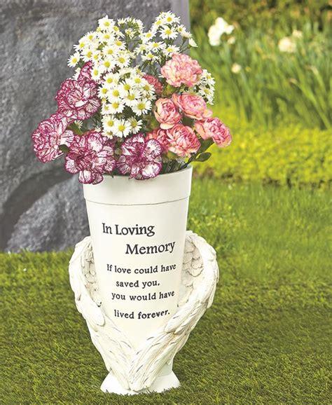 Vase For Grave by Memorial Vase Flowers Cemetery Headstone Grave