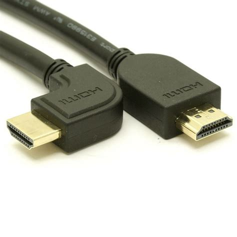 Hdmi Cable Angle Connector by Right Angle Hdmi Cable Ebay