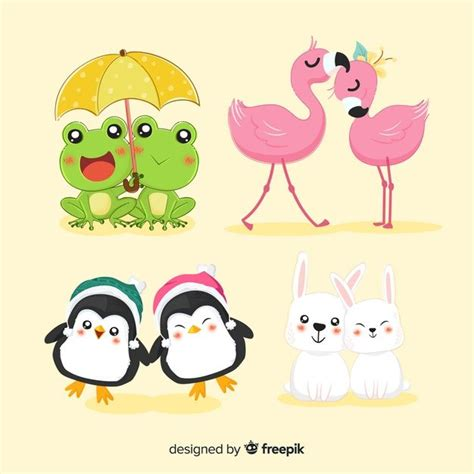 These are released under creative. Download Valentine Animal Couple Collection for free ...