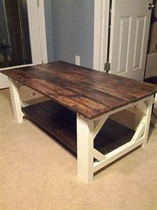 best 25 country coffee table ideas on pinterest white With farm wood coffee table
