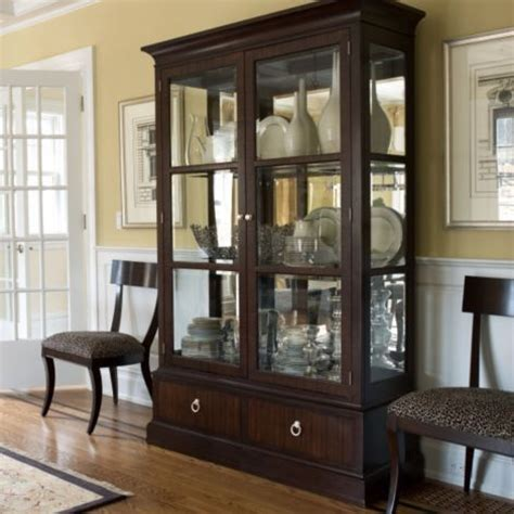 modern dining room sets with china cabinet ethanallen modern brighton china cabinet