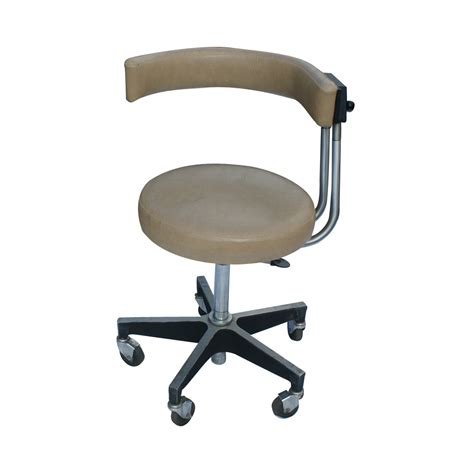 vintage dentsply dental assistant operating stool ebay