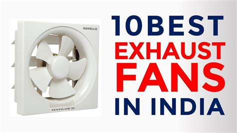 10 Best Exhaust Fans For Kitchen & Bathroom In India With Price