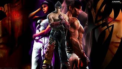 Tekken Tag Tournament Kazuya Jin Jun Kazama