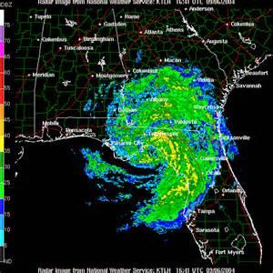 Florida Hurricane Weather Radar