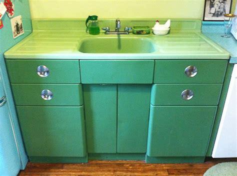 vintage metal sink cabinet vintage metal kitchen cabinet vintage jadeite porcelain