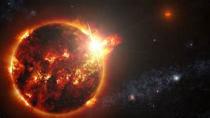Sun Space Glowing Flares Wallpapers Desktop Background