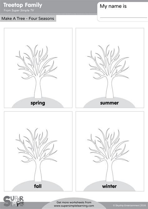 treetop family   tree  seasons super simple