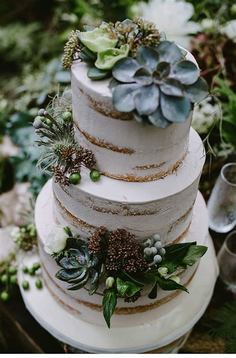 Best 25 Succulent Wedding Cakes Ideas On Pinterest