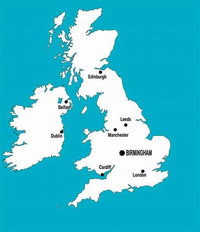 Birmingham Cities Around Map Airport European Perfect