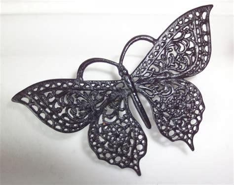 Iron Berlin (cast Iron) Butterfly Brooch Pendant