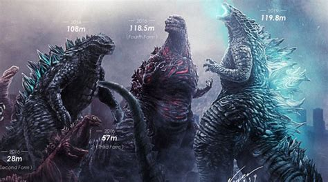 Noger Chen Releases Updated Godzilla 1954