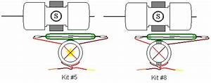 Kit  5  Reed Switch Motor With Transistor