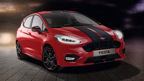 ford fiesta red edition  black edition  sin mejoras