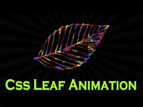 Using css transitions, transforms, and keyframe animations. Amazing Techno Tutorials: css animation 2018 | css leaves ...