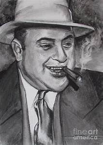 Al Capone 0g Scarface Painting by Eric Dee