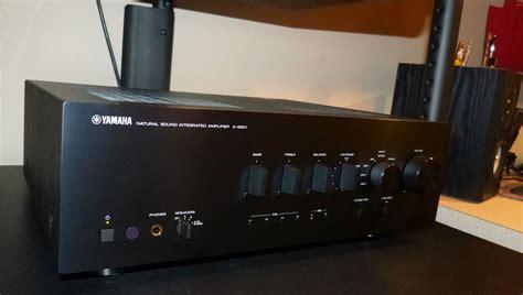 yamaha   integrated amplifier review audioholics