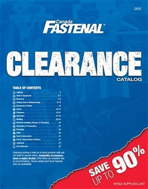 catalogs fastenal