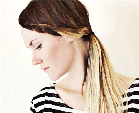 17 Best Ideas About Braided Bangs Tutorial On Pinterest