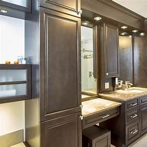 Coiffeuse Salle De Bain : cuisines beauregard salle de bain r alisation 335 ~ Teatrodelosmanantiales.com Idées de Décoration