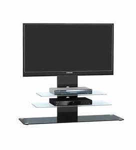 Tv Rack Mit Rückwand : tv rack mit metallgestell in schwarz schwarzglas kaufen bei lifestyle4living m belvertrieb ~ Bigdaddyawards.com Haus und Dekorationen