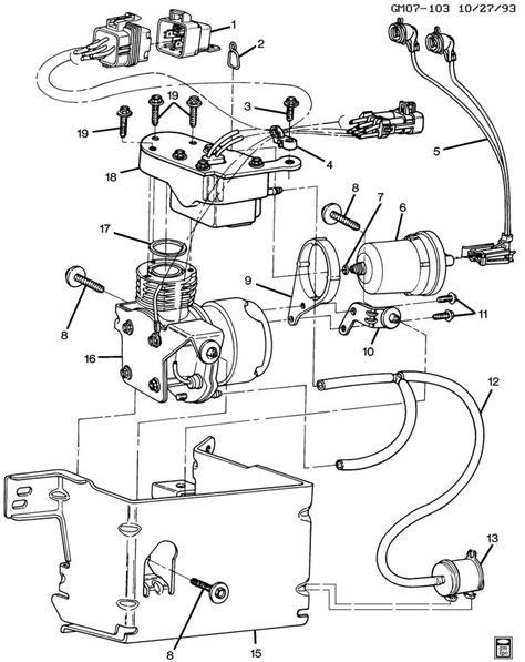 1996 Cadillac Rear Suspension Diagram by Cadillac Level