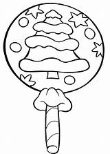 Coloring Candy Pages Christmas Printable Cane Lollipop Template Lollipops Cookie Sucker Templates Sheets Swirl Candies Craft Ice Gingerbread Boys Getcoloringpages sketch template