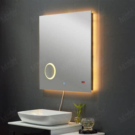 Anti Fog Mirror Bathroom by Mgonz Led Anti Fog Bathroom Mirror Shower Rectangle Light