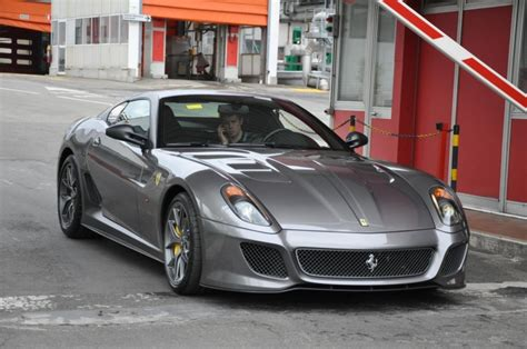 Ferrari 599 Gto Spotted In Real Life News