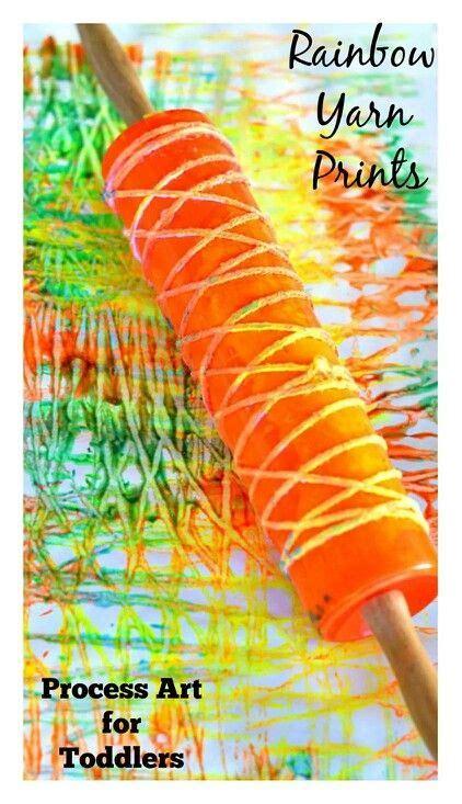 rainbow yarn prints sensory play 854 | 1759726d77add52fb789eee2e313c47f