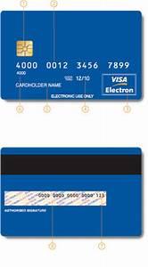 Cómo reconocer tarjetas Visa Electron