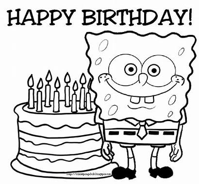 Birthday Coloring Pages Happy Clipart Panda Party