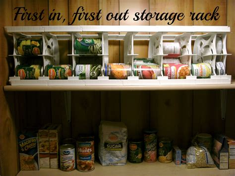 food pantry ideas can canned food goods storage rack best pantry storage