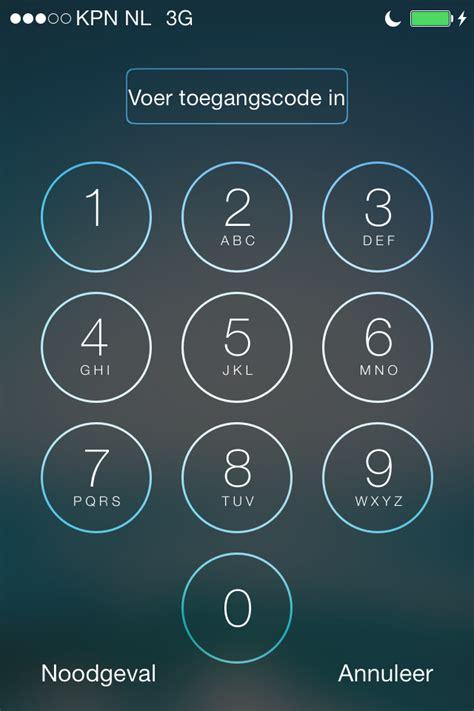 iphone codes iphone wachtwoord instellen stap voor stap uitgelegd