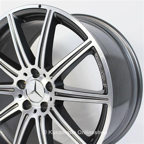 Amg schmiedefelgen 19zoll mercedes benz cls63 e63 sl63 w212 w218. E 63 AMG 19-inch alloy wheel set   10-spoke alloy wheels   Mercedes-Benz E-Class W212   titanium ...