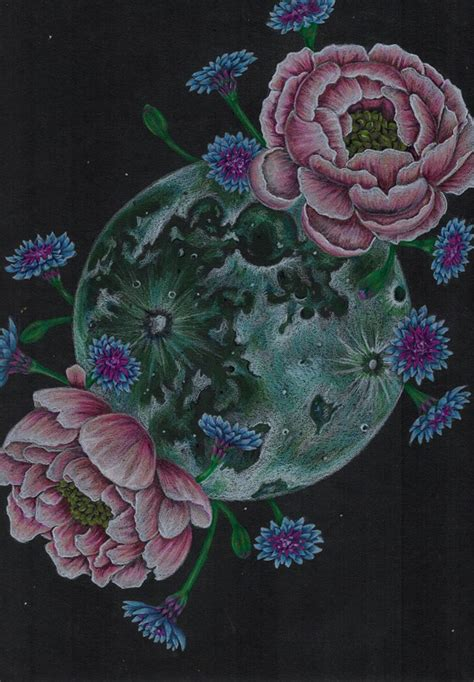 flower moon by janahope on deviantart