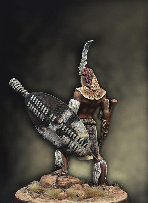 zulu warrior planetfigure miniatures