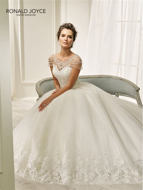 Ronald Joyce 69205 Haley Beautiful Ball Gown Wedding Dress