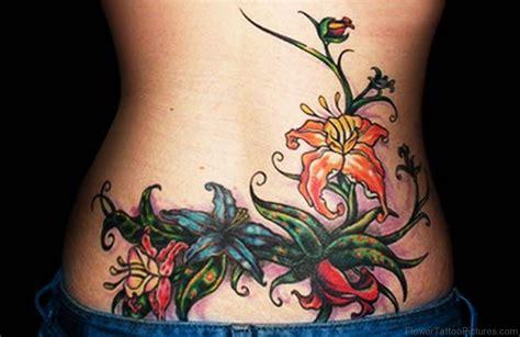 lovely flower tattoos