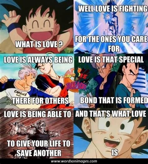 quotes dragon ball sayings wordsonimages added