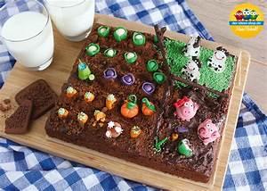 Kuchen Dekorieren Ideen : bauernhof kuchen zucchini schokoladen kuchen farm cake zucchini chocolate cake by der ~ Markanthonyermac.com Haus und Dekorationen