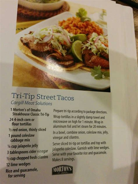 tri tip street tacos  costco cookbook mexican food