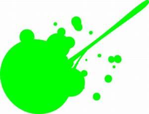 Green Paint Splatter Clip Art at Clker vector clip