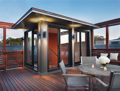 An Impressive Rooftop Deck Addition   Porch Advice