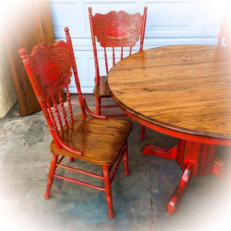 Best 25+ Red Kitchen Tables Ideas On Pinterest Paint