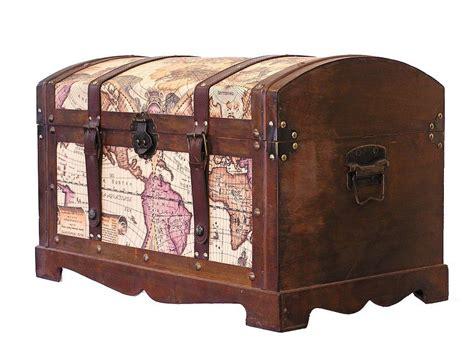 storage chest trunk world map medium wood storage trunk wooden 2549