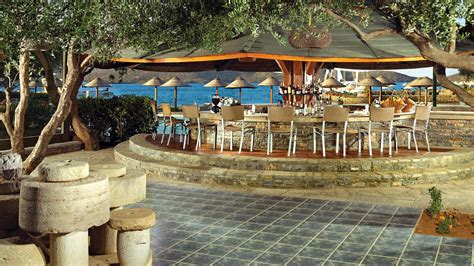 beach bar lounge  porto elounda elounda peninsula