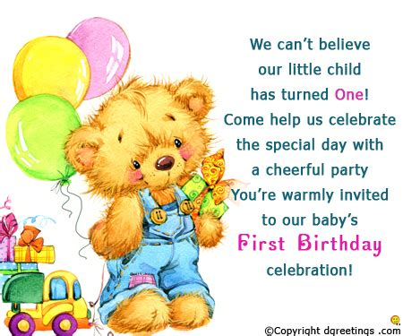 1st birthday party ideas birthday quotes birthday invitation wording 1st birthday invitation